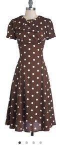 ModCloth Believe It or Dot Dress
